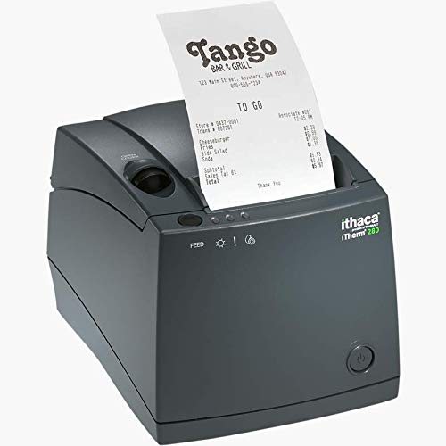 Transact Ithaca iTherm 280 MOD 280-ETHL-1 POS Thermal Receipt Printer W/AC (ETHERNET)