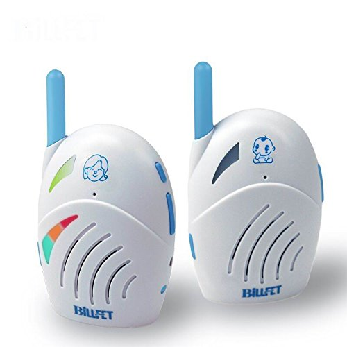 Price comparison product image XINYADA Wireless Digital Audio Baby Monitor 2-way Talk with Battery & Electricity Power