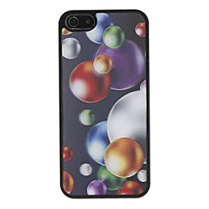 3D Effect Balls Pattern Durable Hard Case for iPhone 5/5S