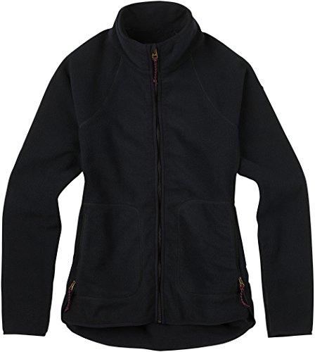 Burton Women's Lira Full-Zip Fleece, True Black, Medium -