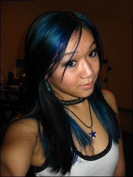 special effects hair dye blue mayhem 22 by unknown