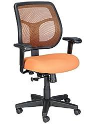 Eurotech Seating Apollo MT9400-ORANGE Midback Swivel Chair, O...