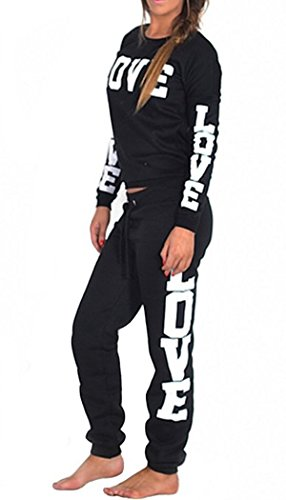 joggers Imprimer Femmes Love Riva Piece Surv Sweater Amour 2 FashionClothing O8fwx7q7