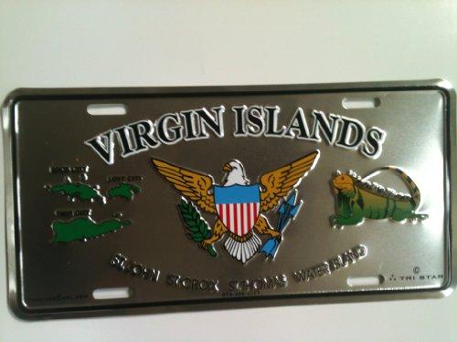 (Virgin Island License Plate)