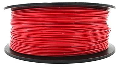 HD-3D - High Definition 3D Printer PETG Filament - Red - 1.75mm