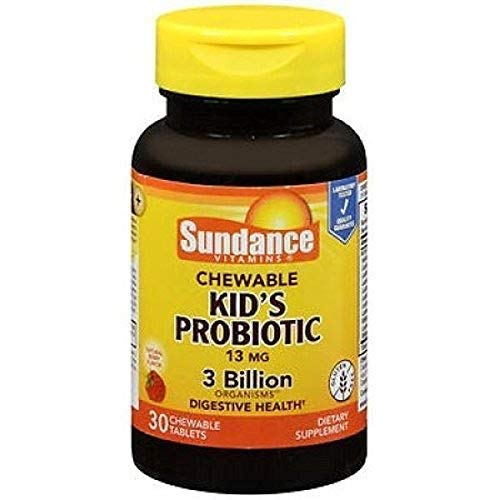 Sundance Chewable Kid's Probiotic 13mg 3 Billion, 30 Count (1)