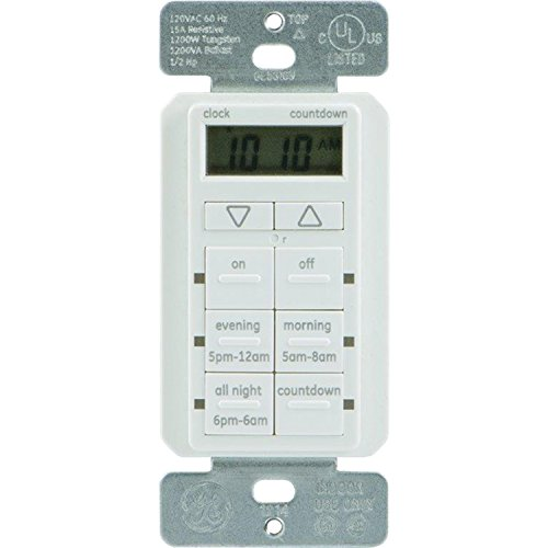 GE 25055 Touch Wired Timer