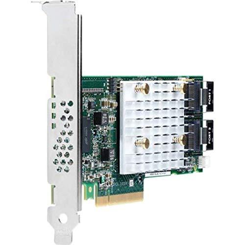 HEWLETT PACKARD HP 830824-B21 Smart Array P408i-p SR Gen10 - Storage Controller (RAID) - 8 Channel - SATA 6Gb/s/SAS 12Gb/s - 1.2 GBps - RAID 0, 1, 5, 6, 10, 50, 60,