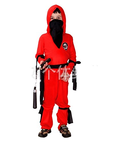 WT Ninja Kids Costume Halloween decorations ideas Japan import (M (3'60