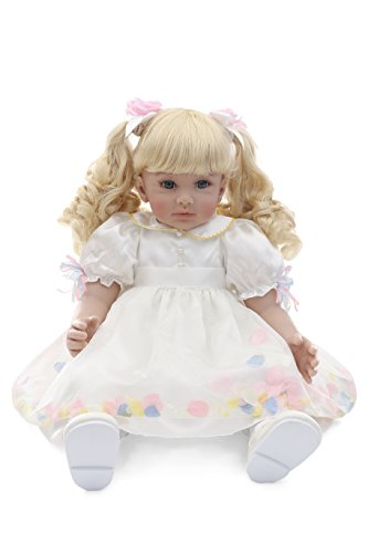 Ladora 23'' Soft Body Lifelike Adorable Doll with Moveable Arms Les for 6+ Children Dolly Toy AMC17010 by Ladora