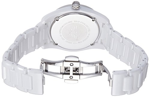 Emporio Armani Women's AR1497 Sport White Watch