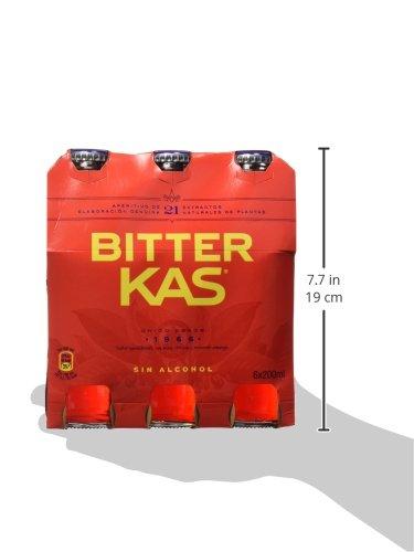 Bitterkas - Bitter Kas - Bebida refrescante - 6 x 200 ml: Amazon.es: Alimentación y bebidas