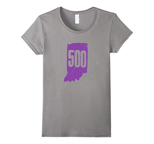 Indianapolis Indy 500 (Women's Indianapolis Indiana Tees: Indiana With 500 In The State XL)