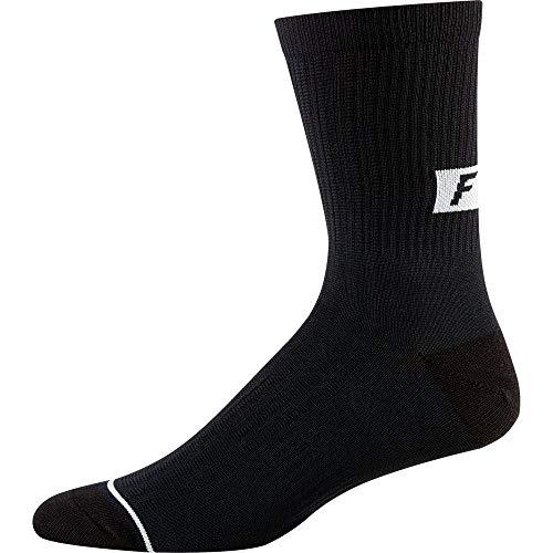 Fox Racing Trail 8in Sock Black, L/XL - Men's