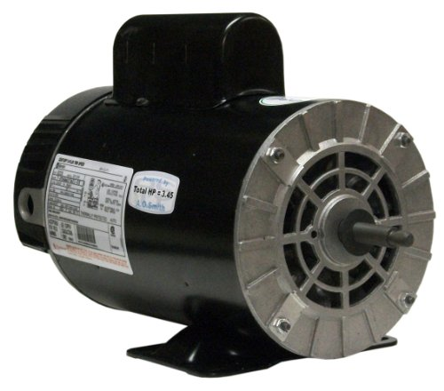 A.O. Smith B2235 4 HP-1/2 HP, 56Y Frame, PSC, ODP Enclosure, Rigid Base Pool Motor, Thru-Bolt Pool Motor ()