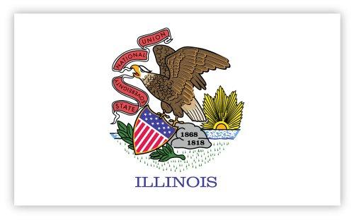 Illinois State Flag Image - 9