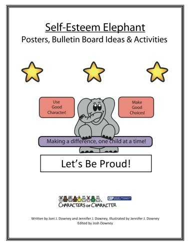Esteem Boards Bulletin Self (Self-Esteem Elephant Postes and Bulletin Board Ideas Activities)