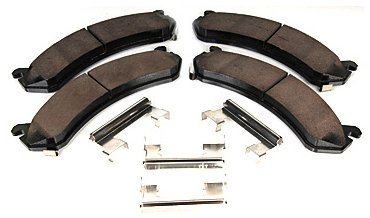 Pads Original Equipment Replacement - ACDelco 171-0978 GM Original Equipment Front Disc Brake Pad Kit with Brake Pads and Clips