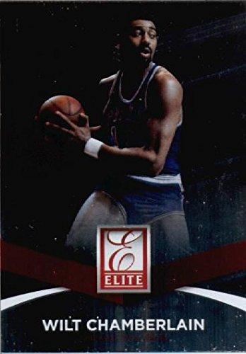 Donruss 2014//15 Panini Elite Basketball Card #100 Wilt Chamberlain Philadelphia 76ers