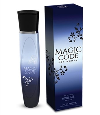 Magic Code by Mirage Brand Fragrances inspired by ARMANI CODE BY GIORGIO ARMANI FOR - Expensive Womens Brands