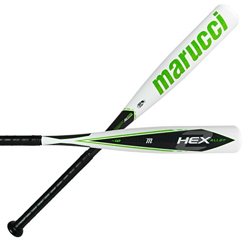 Marucci HEX ALLOY 2 Senior Baseball Bat (-10) (31/21 - As Senior A Softball