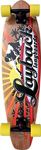 Layback Longboards Rising Sun Complete Longboard Skateboard - 9
