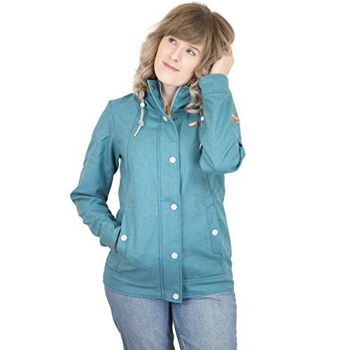 Verde Ragwear Blue Ghiaccio Jacket Enrica Bonded 8qqIz6v