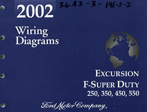 2002 wiring diagrams ford excursion f super duty 250, 350, 450, 550