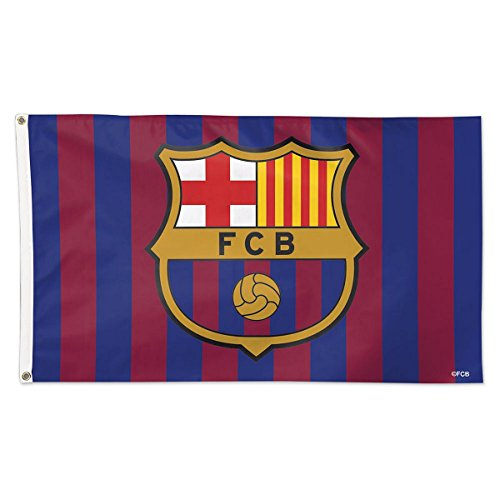 Wincraft FC Barcelona 3x5 Flag International Soccer Banner ()