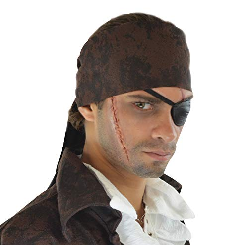 Cinema Secrets Woochie 3D FX Makeup Kit - Professional Quality Halloween Costume Makeup - Pirate -
