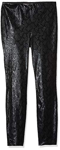 ONLY Carmakoma Damen Carmaddie Faux Suede Snake Leggings