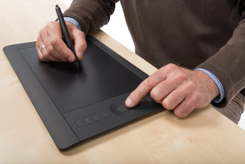 Wacom Intuos Pro Pen and Touch Medium Tablet (PTH651)