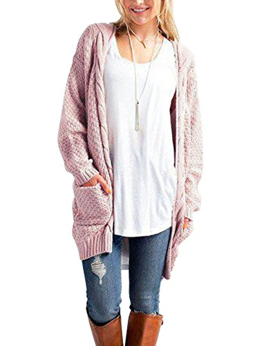 9b467a30d joylivecy womens casual cardigan sweaters open front long sleeve ...