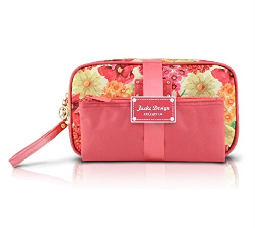 jacki-design-miss-cherie-2-piece-outdoor-cosmetic-bag-gift-set-coral