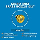 Cool-Off Micro-Mist Nozzle- Garden & Patio Misting