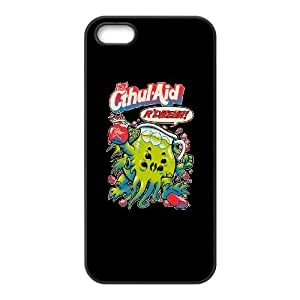 iPhone 5 5s Cell Phone Case Black CTHUL AID SKW Make Custom Phone Cases