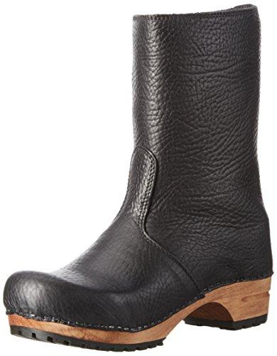 Puk Arricciati black Boot 2 schwarz Donna Stivali Sanita Nero dw1qdU