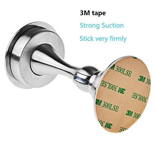 FOLAI Stainless Steel Magnetic Door Stop Door Catch Metal Door Holder Doorstop Photo #3
