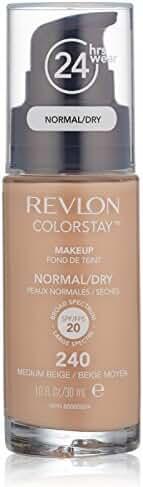 Revlon Colorstay Makeup For Normal/Dry Skin, Medium Beige, 1 Fl Oz