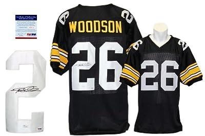Rod Woodson Signed Custom Jersey - PSA/DNA - Autographed - Pro Style - Black
