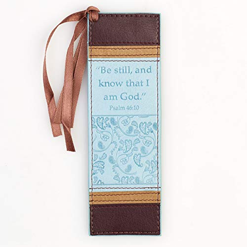 Be Still and Know That I am God LuxLeather Pagemarker / Bookmark - Psalm 46:10