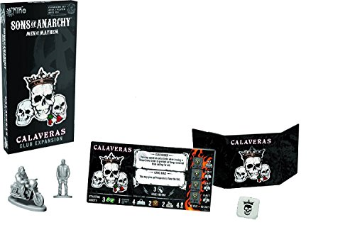 Sons Of Anarchy Calaveras Club Expansion Board Game