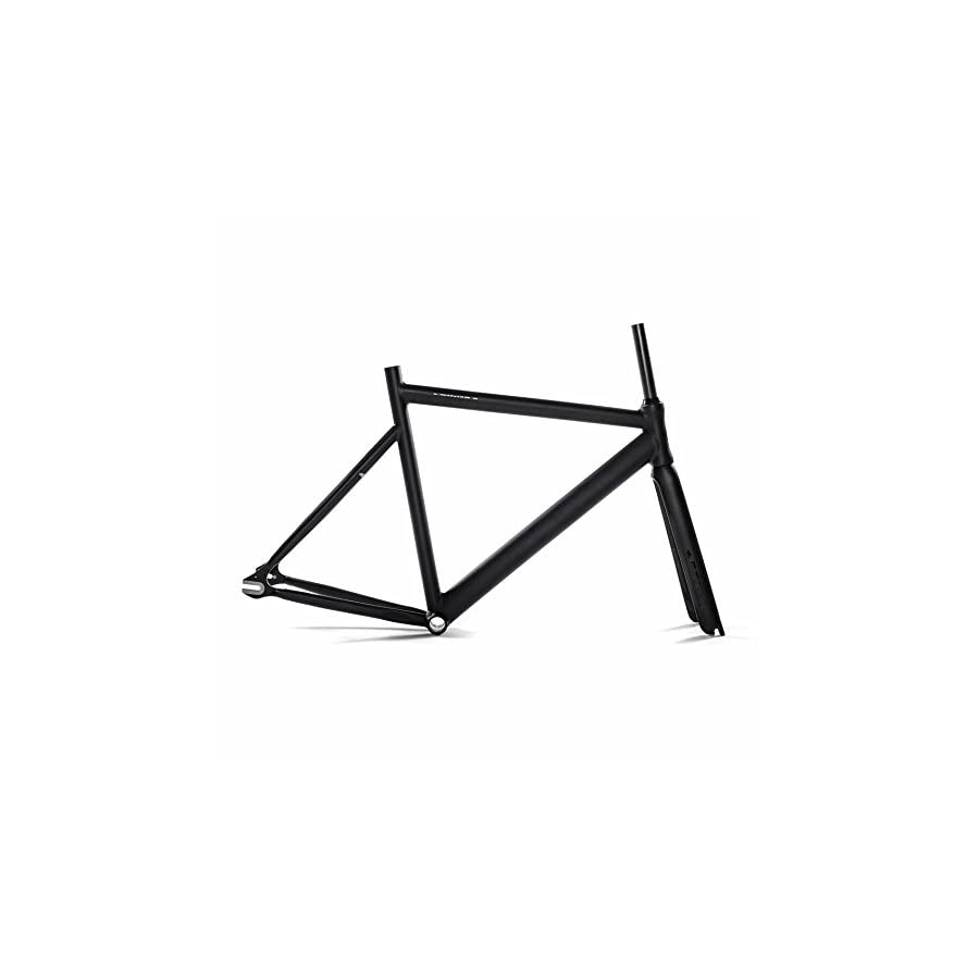 State Bicycle Black Label 6061 Aluminum Frame and Carbon Fork Set