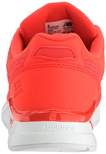 Energy Red Leather mesh Lifestyle 530 Ginnastica New white Balance Da suede Scarpe Donna WnZFFv