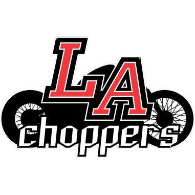 LA Choppers Chrome 1-1/2