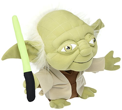 uper-Deformed Plush Star Wars Yoda Plush, 12