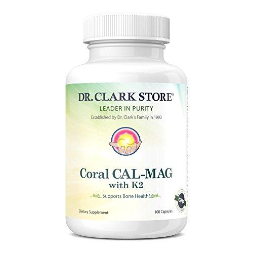 Coral Cal-Mag K2, 993 mg 100 capsules