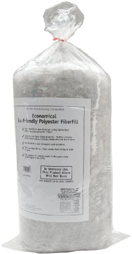 Air Lite 520/18 Eco-Friendly Recycled Polyester Fiberfill, 20-Ounce ()