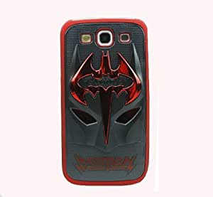 HJX Red/Black S III i9300 Lovely 3D Batman Mask Inspiration Latest Trend Design Case Protector Cover for Samsung Galaxy S3 III i9300