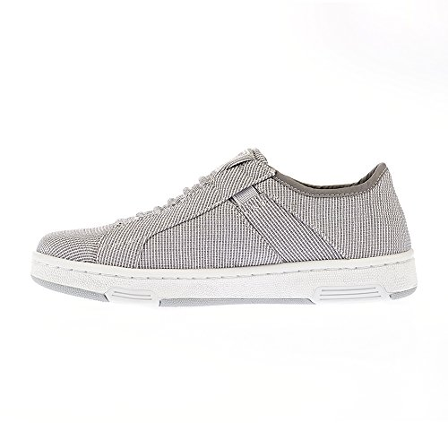 23cm Gray 6 Women Washed Sneakers ICON Elastics Size US Royal for 1fA44p